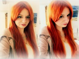 Amy Pond Cosplay Make up Test by SylviaHope