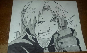 Edward Elric by 9TailsRox