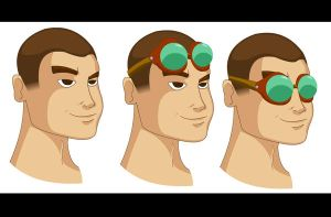 Face n Goggles trials by tarunbanned