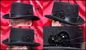 Gothic Anachronaut's Top Hat by Atratus