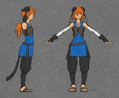 Zii Model Sheet by zii