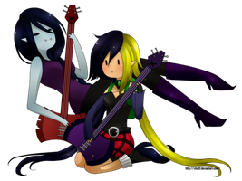 Josefinne and marcy. by Vika01