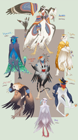 Avian Mantelbeasts Auction (CLOSED) by Spockirkcoy