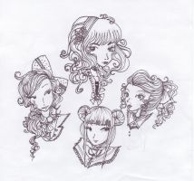Lolita Heads by seasonscall