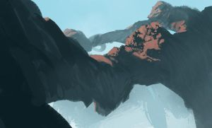 Quick Environment Color Painting by Takumer