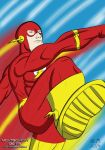 Flash inking and colouring by montgomerydigital
