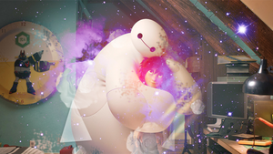 Baymax and Hiro by Karency-Natura