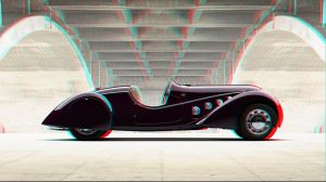 Classic Auto Anaglyph by Geosammy