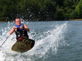 Knee Boarding by czphotography