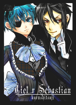 Ciel x Sebastian by Lollipop-Kizz