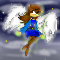 Darcy the Angel by XxXKaya-the-wolfXxX