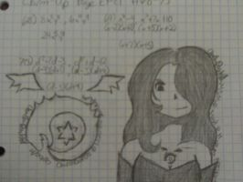Lust + Ouroboros Math Drawings by ChuChuDarling81