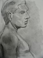 Graphite and Charcoal Profile by Grey-Walker