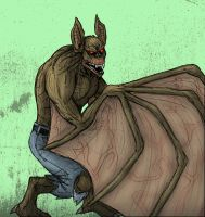 Man-Bat - The Mutated Scientist by MattFriesen