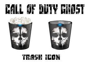 Call Of Duty Ghost Trash Icon by yrod1980