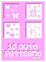 10 cute patterns by Sweet83