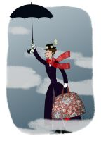Mary Poppins by edgar1975