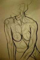 Life Drawing 1. by Sophabelle