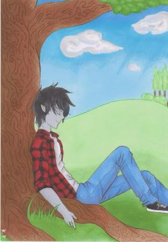 Fan Art || Marshall Lee by KoaProduction