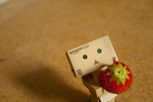 Danbo is eating by psyFisch