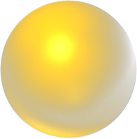 yellow orb by desithen