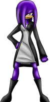 CM: Lilly The Echidna by Mephilez