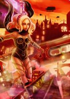 Gravity Rush Fan Art by Phoenixboy