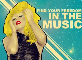 Find Your Freedom in the Music by LoveisthenewEbony