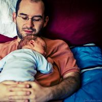 father and son by Frall