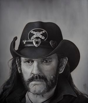 Lemmy Kilmister by MRailas-art