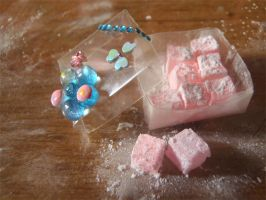 1:12 Miniature Turkish Delight by eycsnow