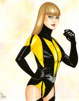Silk Spectre II by DarthTerry