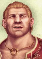 Varric by Atarial