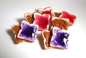 PB and J Sandwiches by SarahRose