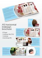 Cafe Brochure A5 by NewJayne