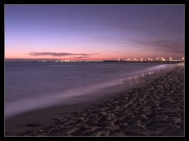 st kilda sunset by syncore