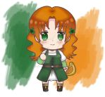 Chibi Ireland OC by SONIXA
