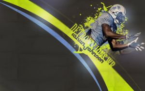 Calvin Johnson by GKgfx