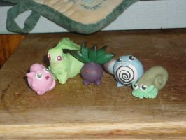 Pokemon ornaments by Starleaf-Creations