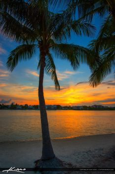 Sunset-South-Florida-from-Jupiter-Island by CaptainKimo