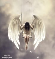 Loneley Angel by mhug