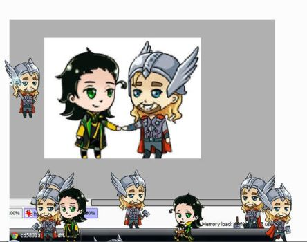 Thor Shimeji by Dreambeing