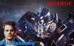 Rob Kazinsky and Ironhide by Skrillexia-TF