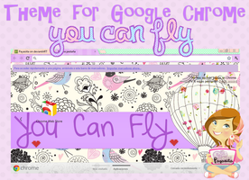 Theme You Can Fly For Google Chrome by Payasiita