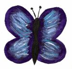 Water Coloured Butterfly by Lotuslovesflowers