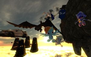 The Great Sky Race by FezWearingDoctor