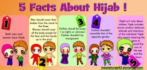 5 facts about hijab by RoseSakuraJo83