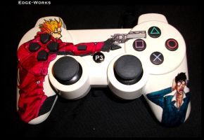 Trigun PS3 Controller 1 by Edge-Works