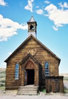 Abandoned Church - Bodie by Syonath