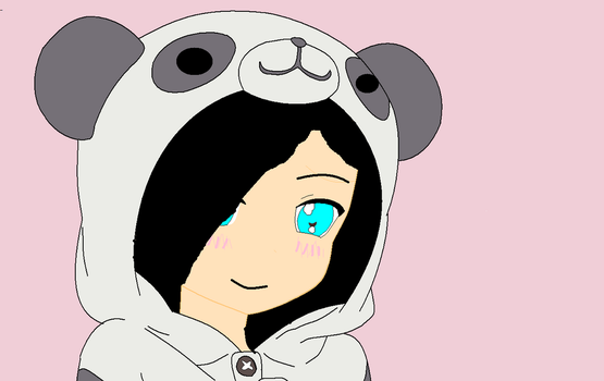 Me In Kawaii Panda X3 by MoonKawaii55